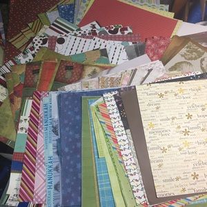 Scrapbook paper card stock
